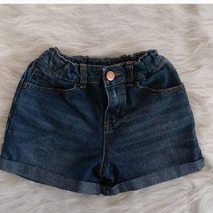 Cherokee Five Pocket Blue Denim Shorts